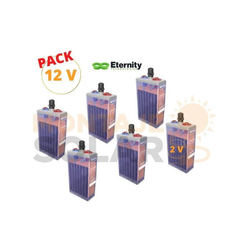 PACK 12V ETERNITY OPZS